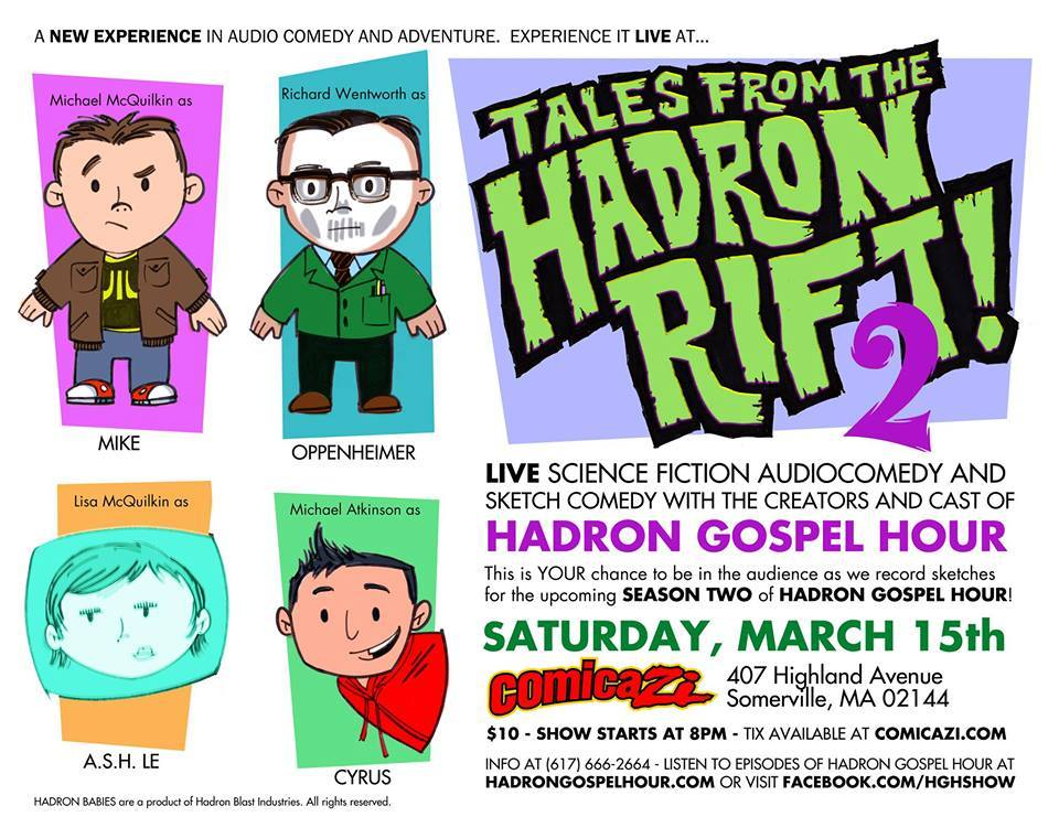 Tales From The Hadron Rift 2 print - SIGNED