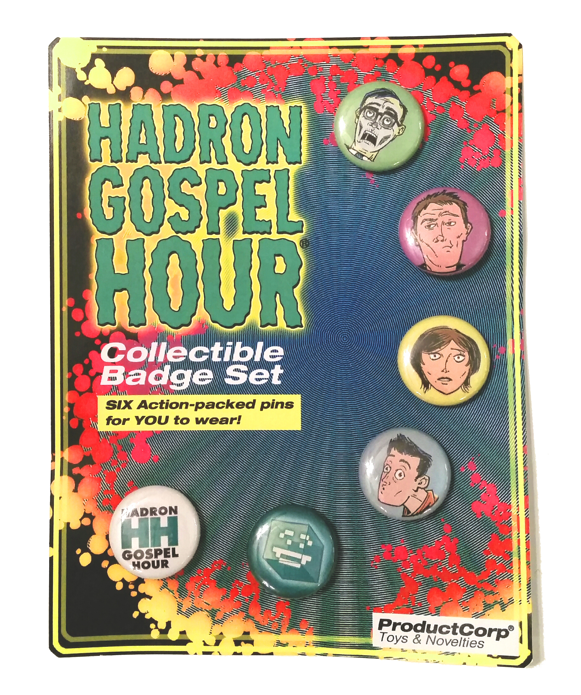 HGH Collectible Badge Set